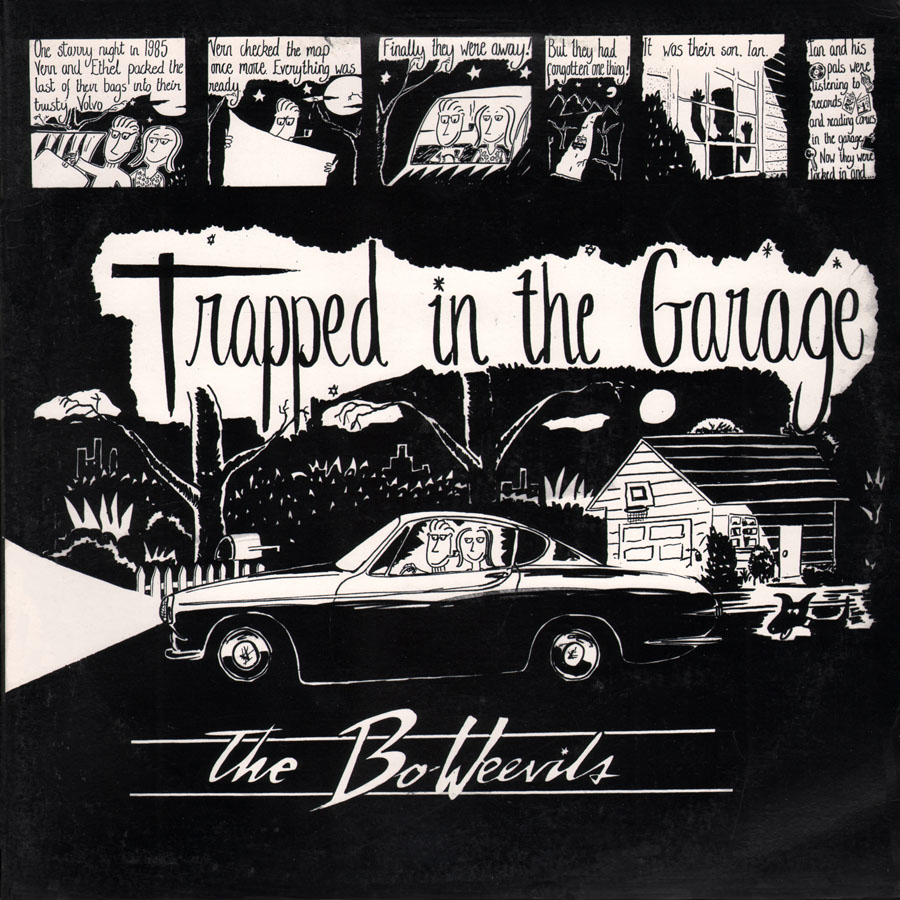 bo weevils lp trapped in the garage front