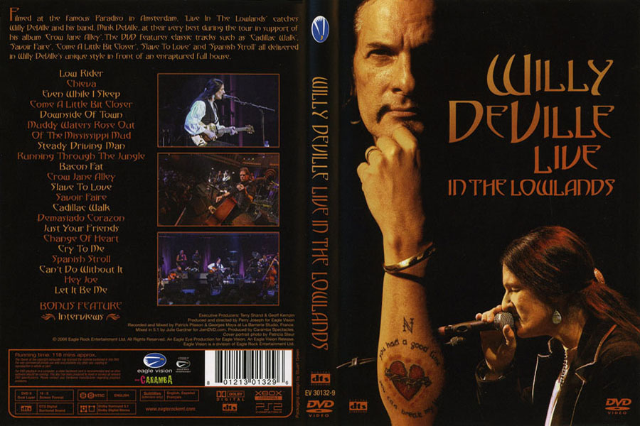 willy de ville dvd lowlands
