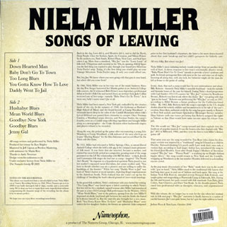 niela miller lp song of leaving back