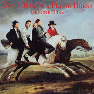 lick the tins lp blind man on a flying horse front