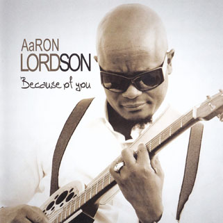 aaron lordson cd because of you front