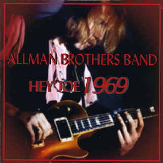 allman brothers band cd hey joe 1969 front