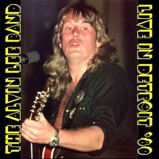 alvin lee band cd in detroit'80
