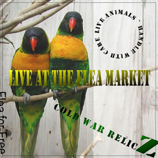 cold war relicz live at flea market front