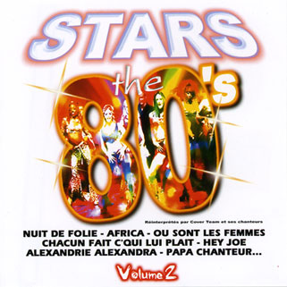 cover team cd stars the 80's front