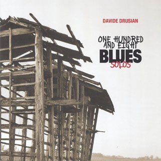davide drusian 108 blues solos front