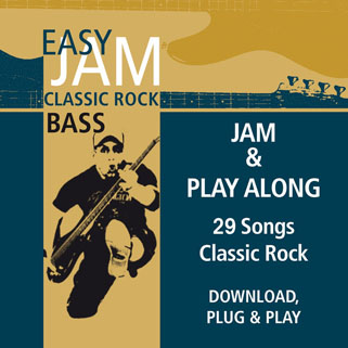 easy jam cd classic rock bass