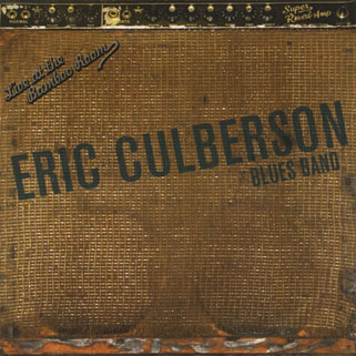 eric culberson cd live at the bamboo room front
