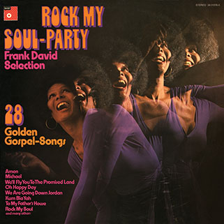 frank david selection rock my soul party front