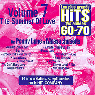 hit company cd hits des 60's 70's vvvol 7