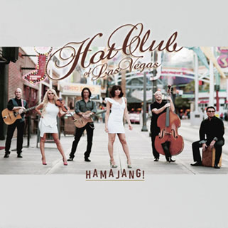hot club of las vegas cd hamajang! front