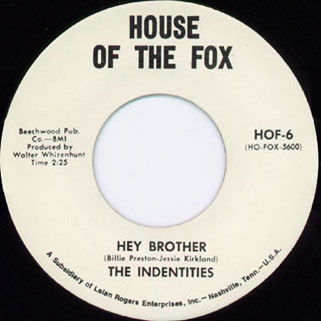 indentities single hey brother