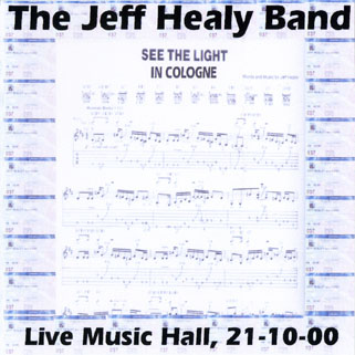 jeff healey cd see the light in cologne