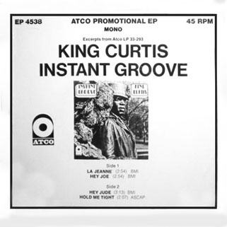 "king curtis 7"" promo cover"