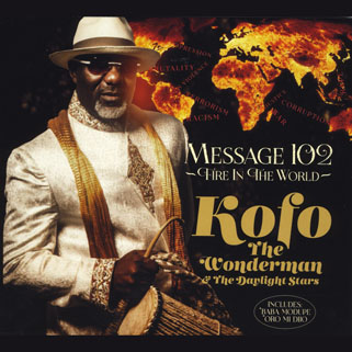 kofo the wonderman cd message 102 front