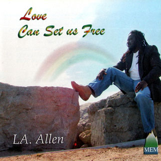 la allen cd love can sets us free