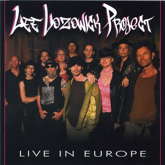 lee lozowick project cd live in europe front