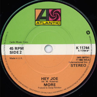 more single side 2 hey joe