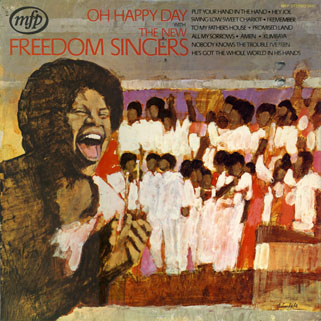 new freedom singers lp oh happy day front