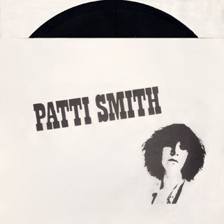 patti smith hey joe piss factory single mer 601 front