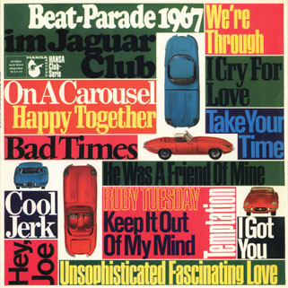 people lp beat parade 1967 front