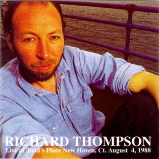 richard thomson cd live at toad's place front
