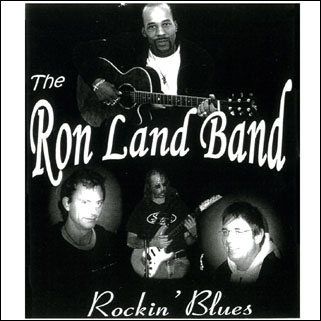 ron land blues band cd rockin' blues front