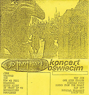 so much hate koncert oswiecim cover tape