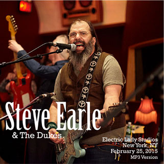 steve earle and the dukes cdr live at electric lady studios nyc 2015 front