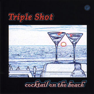 triple shot cd cocktail on the beach