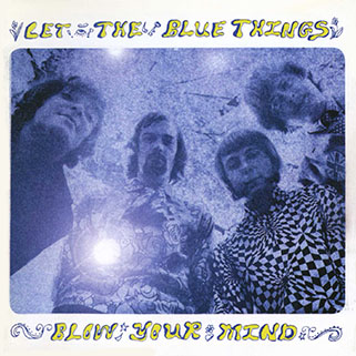 blue things cd let the blues things front