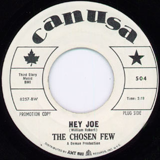 chosen few single hey joe side