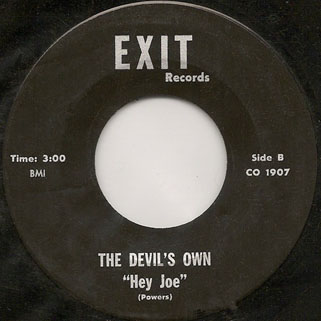 devil's own single side hey joe
