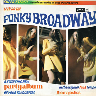 majestics lp funky broadway stereo front