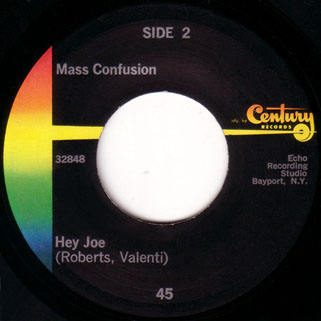 mass confusion single side hey joe
