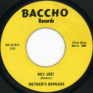 mothers orphans single side 1 hey joe