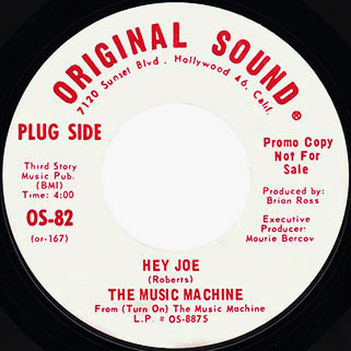 music machine single side hey joe