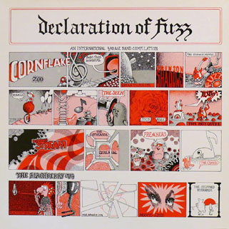 seen lp red declaration of fuzz front