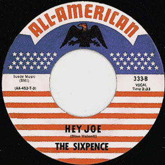 thee sixpence single side hey joe