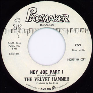velvet hammer single promo side hey joe part 1