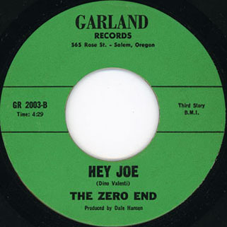 zero end single side hey joe