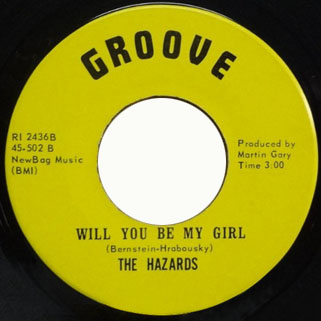 hazards yellow single side will you be my girl