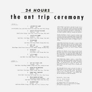 ant trip ceremony lp resurrection 24 hours back