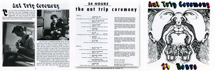 ant trip ceremony cd collectables 24 hours cover out