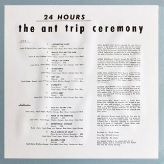 ant trip ceremony lp psychedelic archive back cover
