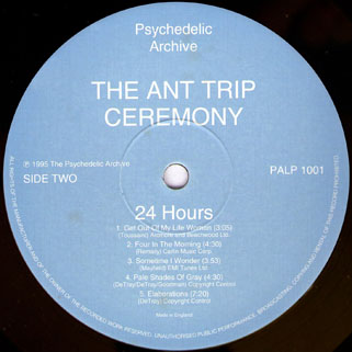 ant trip ceremony lp psychedelic archive label 2