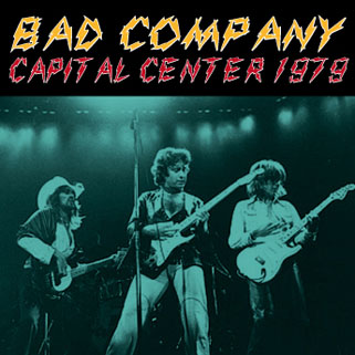 bad company capital center 1979 front