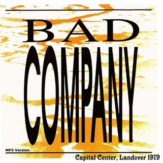 bad company capital center landover 1979 front