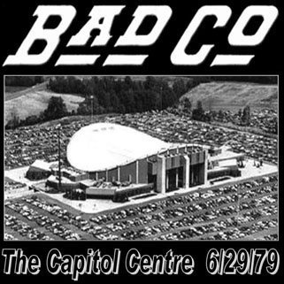bad company capitol centre 6/29/79 front
