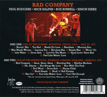 bad company live 1977 1979 back cover